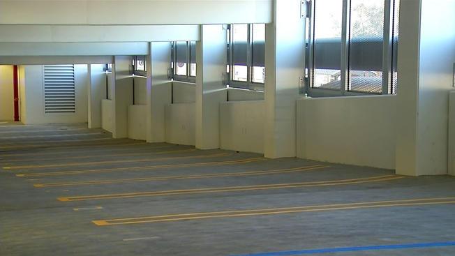 New Parking Garage Opens In Downtown San Diego